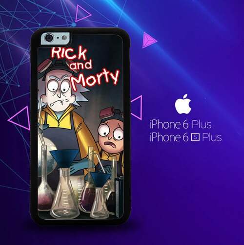 Rick and Morty W3286 custodia cover iPhone 6 Plus, 6S Plus