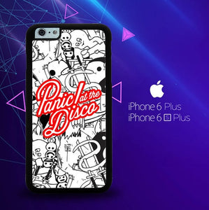 Panic At The Disco W4211 custodia cover iPhone 6 Plus, 6S Plus