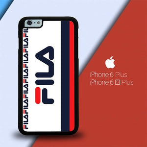 Fila Logo W8724 custodia cover iPhone 6 Plus, 6S Plus