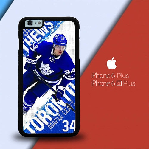 Toronto Maple Leafs W8776 custodia cover iPhone 6 Plus, 6S Plus