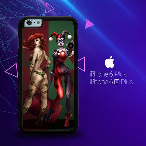 Poison Ivy Harley Quinn Y1739 custodia cover iPhone 6 Plus, 6S Plus