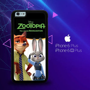 Zootopia E0081 custodia cover iPhone 6 Plus, 6S Plus