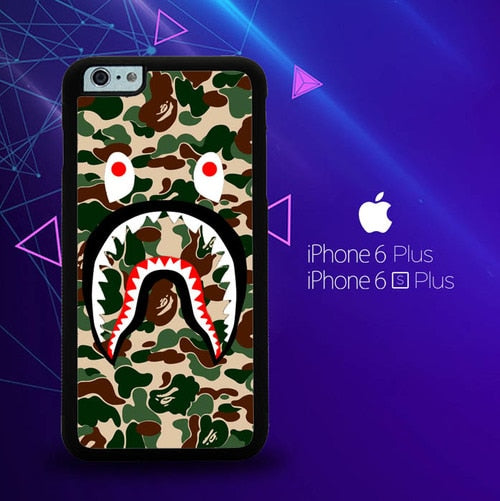 Supreme Shark Green E1386 custodia cover iPhone 6 Plus, 6S Plus