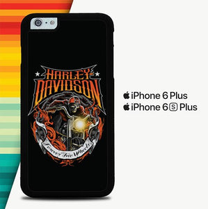 Harley Davidson Forever Two Wheels P0238 custodia cover iPhone 6 Plus, 6S Plus