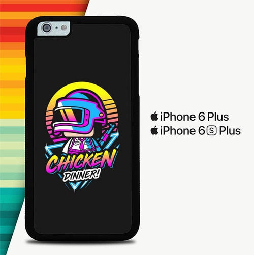 PUBG Chicken Dinner P0313 custodia cover iPhone 6 Plus, 6S Plus