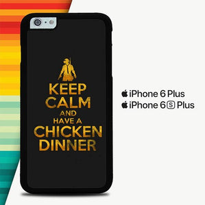 PUBG Keep Calm P0316 custodia cover iPhone 6 Plus, 6S Plus
