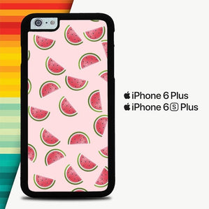 Watermelon Pattern P0430 custodia cover iPhone 6 Plus, 6S Plus
