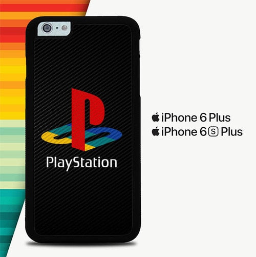 Playstation Logo P0474 custodia cover iPhone 6 Plus, 6S Plus