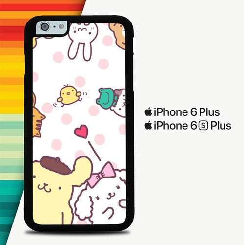 Pompompurin Cute P0531 custodia cover iPhone 6 Plus, 6S Plus