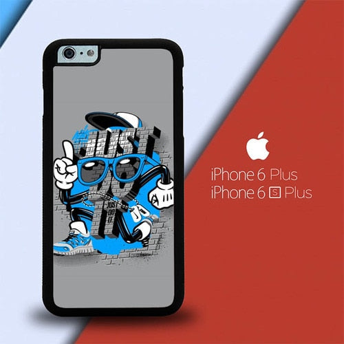 Nike Graffiti P0649 custodia cover iPhone 6 Plus, 6S Plus