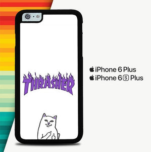 Rip N Dip x Trasher P0835 custodia cover iPhone 6 Plus, 6S Plus