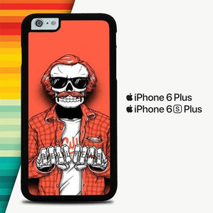 Hell Yeah P1118 custodia cover iPhone 6 Plus, 6S Plus