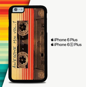 Awesome Mix Vol 1 P1127 custodia cover iPhone 6 Plus, 6S Plus