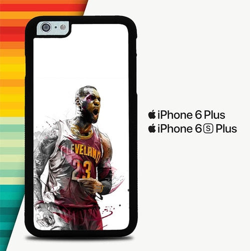 Lebron James is the best high definition P1599 custodia cover iPhone 6 Plus, 6S Plus