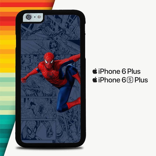 Spiderman P1645 custodia cover iPhone 6 Plus, 6S Plus