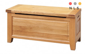 Acorn Solid Oak Blanket Box - North Lakes Sofas