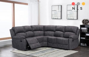 Alaska Plush Fabric Corner Collection - North Lakes Sofas