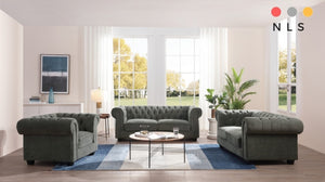 Chesterfield Fabric Collection - North Lakes Sofas