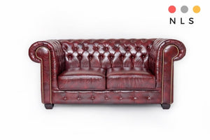Chesterfield Leather Collection - North Lakes Sofas