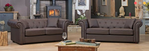 Clarkson Chesterfield Collection - North Lakes Sofas
