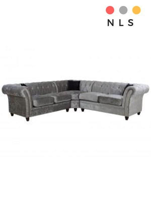 Derby Chesterfield Corner Sofa - North Lakes Sofas