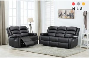 Elle Bonded Leather Suite Collection - North Lakes Sofas