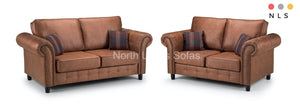 Oakland Leather Collection - North Lakes Sofas