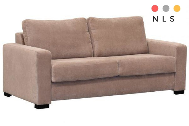 Paris 3 seater sofa bed with foam matress