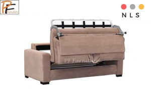 Paris 3 seater sofa bed with foam matress - North Lakes Sofas