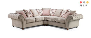 Roma Chesterfield Corner Collection - North Lakes Sofas