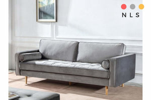 Scotty Grey Fabric Collection - North Lakes Sofas