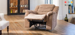 Tirana Reclining Chair Collection - North Lakes Sofas