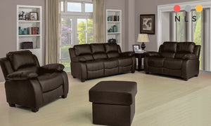 Valerie Leather Suite Collection - North Lakes Sofas