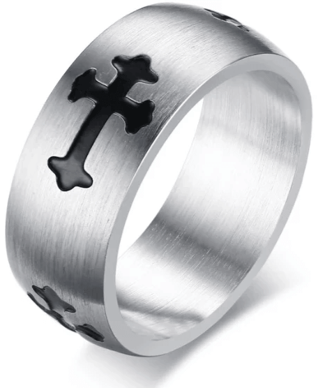 BAGUE CROIX <br>ORTHODOXE