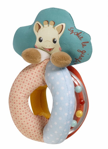 Sophie the Giraffe Rattle with Beads