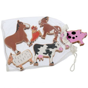 Farm Animals Bag of 6