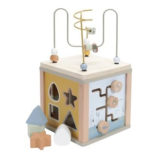 Wooden Activity Cube - Little Goose