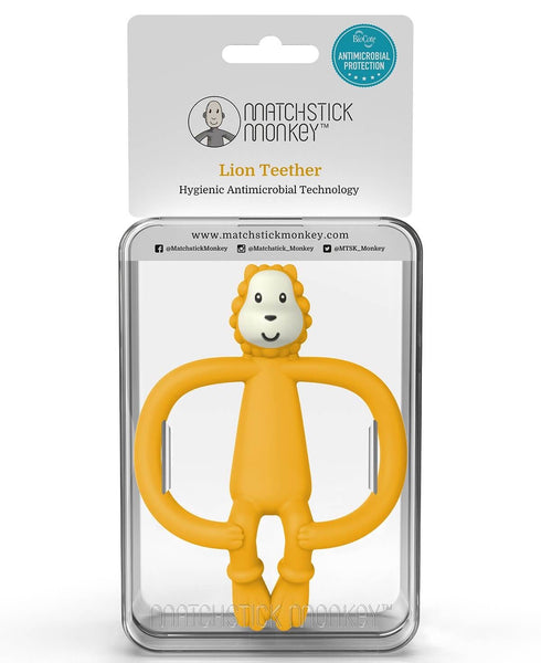 Matchstick Monkey Teething Toy - Ludo Lion