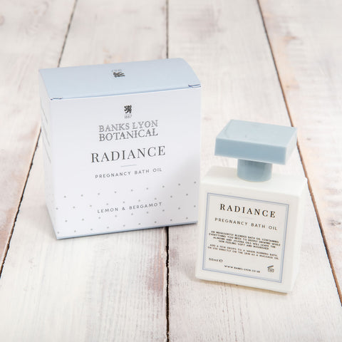 Radiance Pregnancy Bath Oil