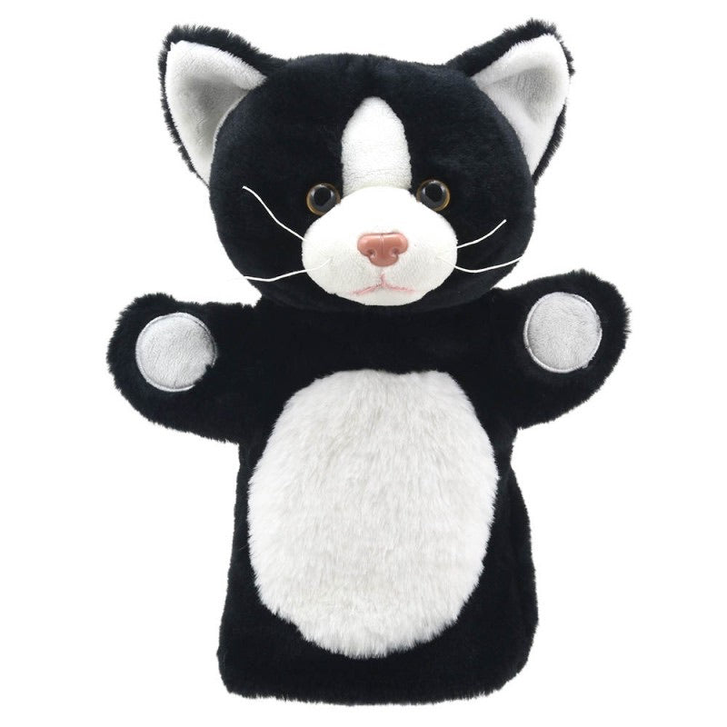 Puppet Buddies - Black & White Cat