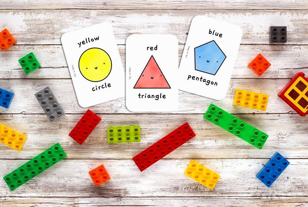 Shapes & Colours Flashcards