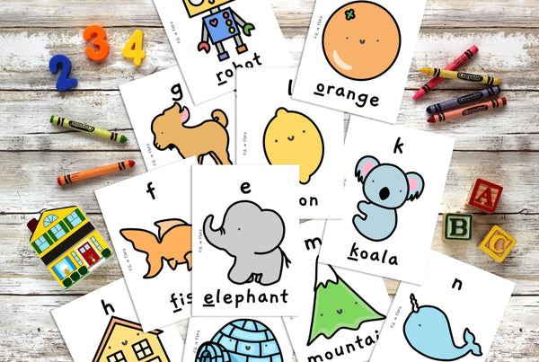 Phonics Phase 2 Sounds Flashcards