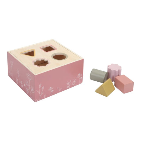 Little Dutch Pink Wild Flowers Shape Sorter