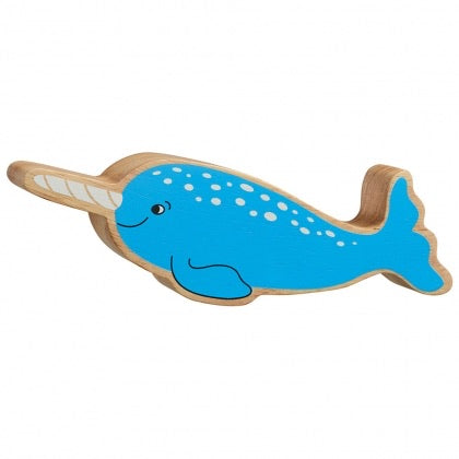 Wooden Narwhal