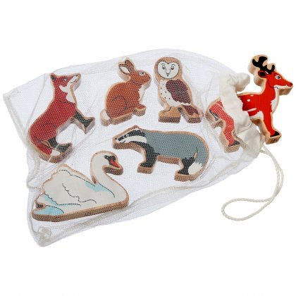 Countryside Animals Bag of 6