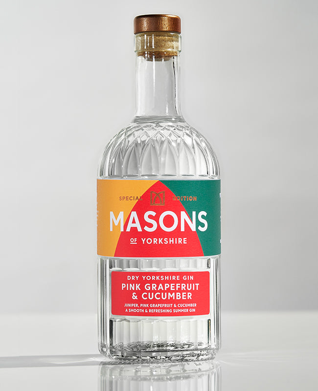Masons Pink Grapefruit & Cucumber Gin