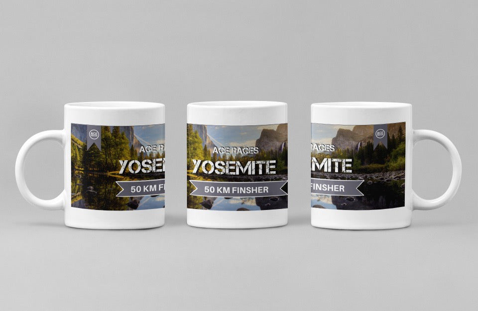 Virtual 50km Yosemite Challenge - Finishers Mug