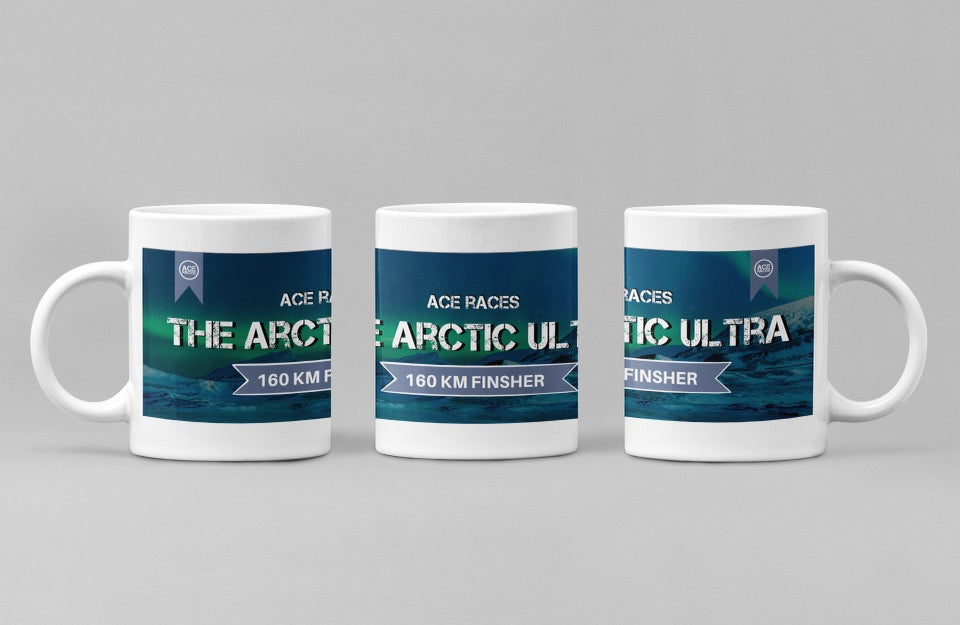 Virtual 160km Arctic Ultra Challenge - Finishers Mug