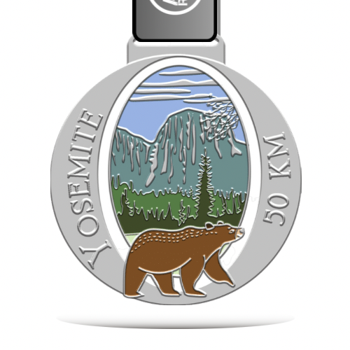The Yosemite Virtual Challenge - 50km