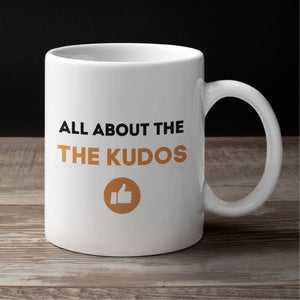 Cycling Mug - Cycling Gift - 'All about the Kudos' Mug